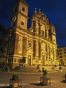 Frascati by night