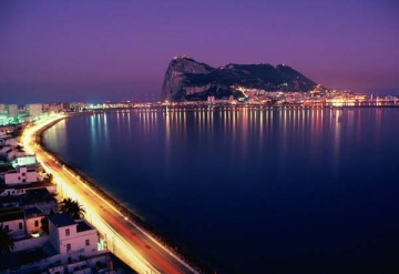 Gibraltar By Night